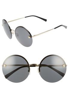 Versace Medusa Logo 59mm Large Round Sunglasses