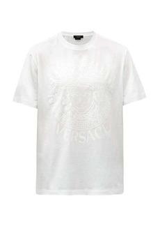Versace Medusa-logo cotton-jersey T-shirt