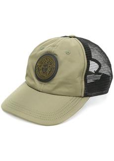 Versace Medusa patch baseball cap - Green