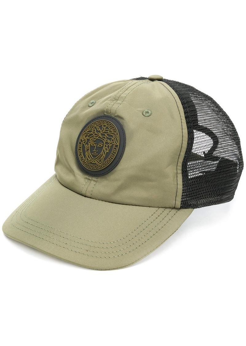 Versace Versace Medusa patch baseball cap - Green  0250146ae88