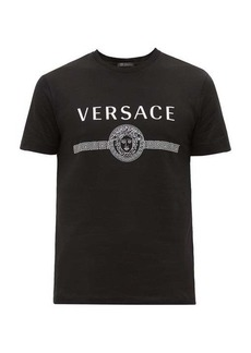 Versace Medusa-print cotton T-shirt