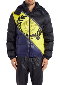 Versace Medusa Quilted Jacket
