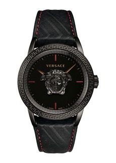 Versace Men's 43mm Palazzo Empire Watch  Black