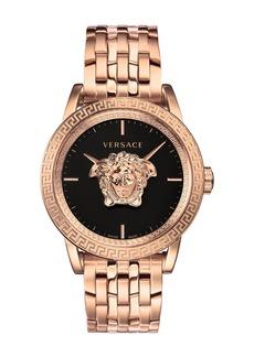 Versace Men's 43mm Palazzo Empire Watch  Rose Gold