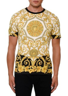 Versace Men's Classical Graphic Print T-Shirt