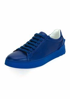 Versace Men's Leather Low-Top Sneakers