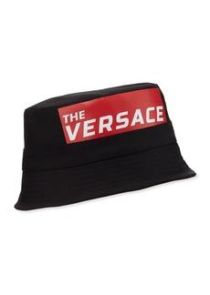 Versace Men's Logo Bucket Hat
