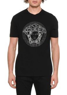 Versace Men's Medusa Head Graphic T-Shirt