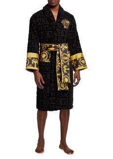 Versace Men's Medusa Logomania Robe
