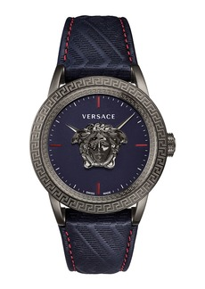 Versace Men's Palazzo Empire Leather Watch