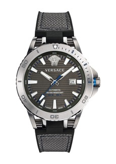 Versace Men's Sport Tech Diver Watch  Navy
