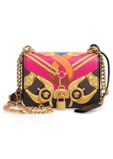 Versace Mini Icon Leather Shoulder Bag