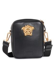 Versace Mini La Medusa Leather Crossbody Bag