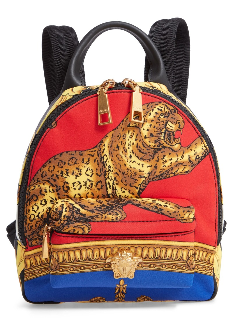 7174b8375f0 Versace Versace Mini Palazzo Pillow Talk Nylon Backpack