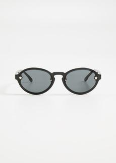 Versace Oval Sunglasses