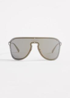 Versace Oversized Shield Sunglasses
