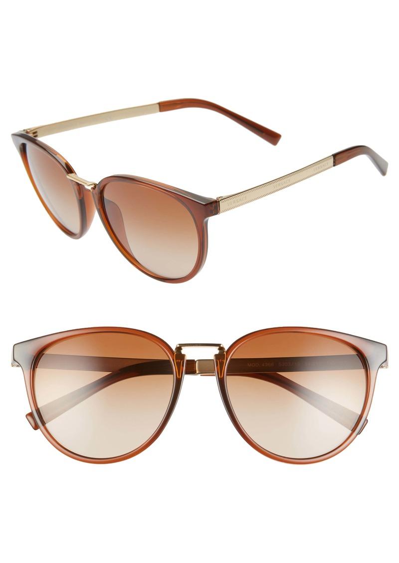 Versace Phantos 54mm Round Sunglasses
