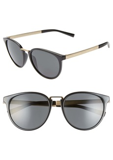 Versace Phantos 54mm Round Sunglasses