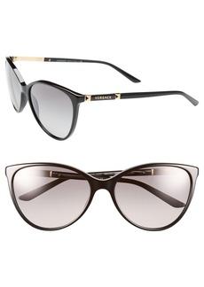 Versace 'Pilot' 58mm Sunglasses