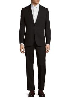 Versace Pinstripe Wool Jacket