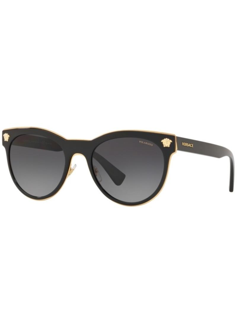 Versace Polarized Sunglasses, VE2198 54
