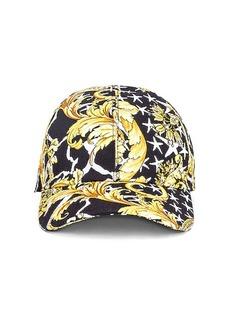 VERSACE Print Baseball Hat