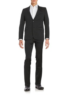 Versace Regular-Fit Wool-Blend Suit