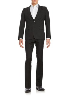 Versace Regular-Fit Wool-Blend Suit