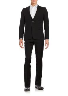 Versace Regular-Fit Wool Suit
