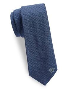 Versace Repeat Maze Silk Tie
