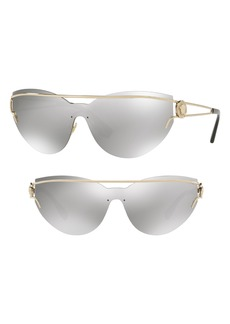 Versace Rock Icons Medusa 138mm Rimless Shield Sunglasses
