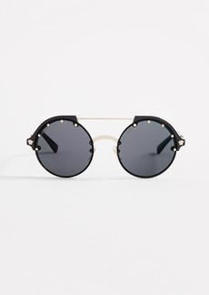 Versace Round Aviator Sunglasses