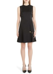 Versace Safety Pin A-Line Dress