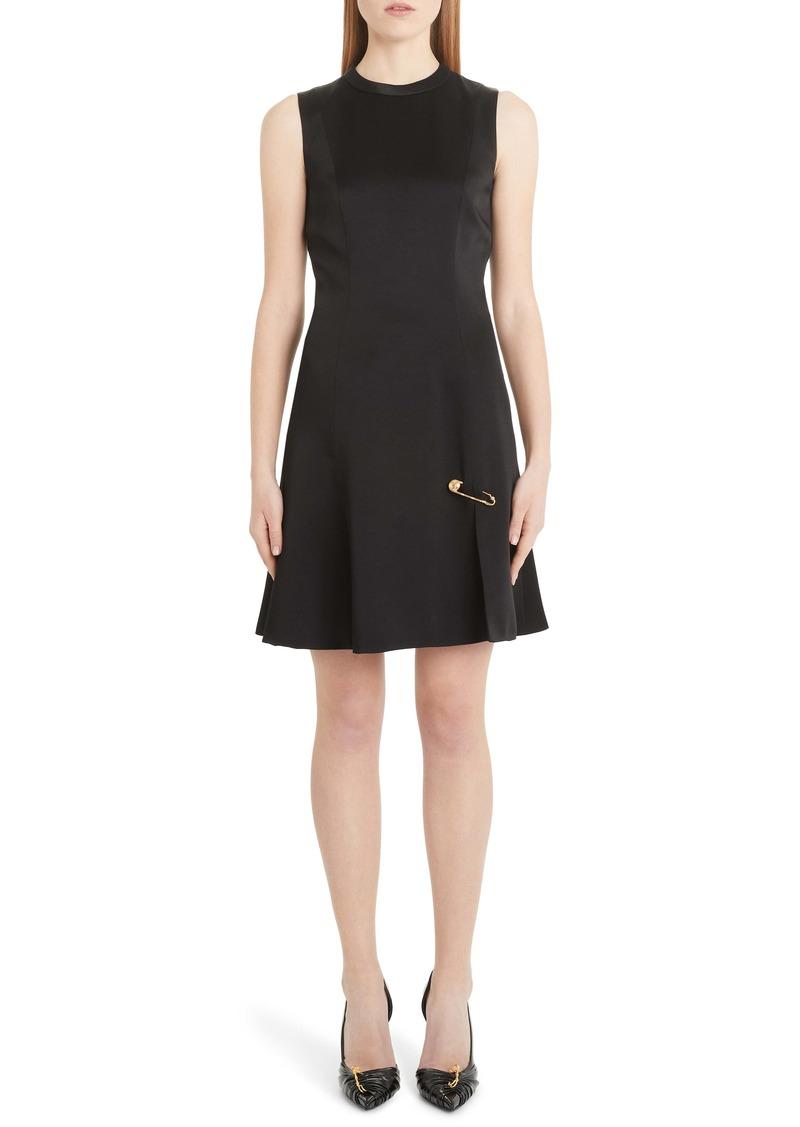 Versace Safety Pin A-Line Dress