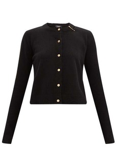 Versace Safety pin cashmere-blend cardigan
