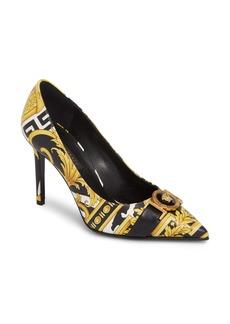 Versace Savage Barocco Pointy Toe Pump (Women)