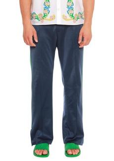 Versace Side Slit Medusa-Embroidered Track Pants