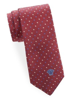 Versace Silk Printed Tie