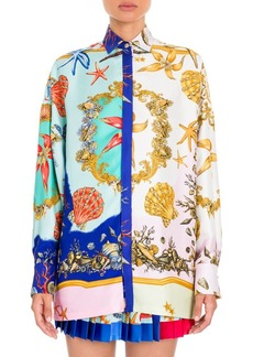 Versace Silk Twill Blouse