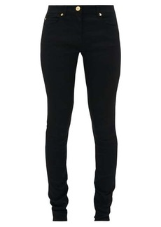 Versace Slim-fit technical stretch and denim jeans