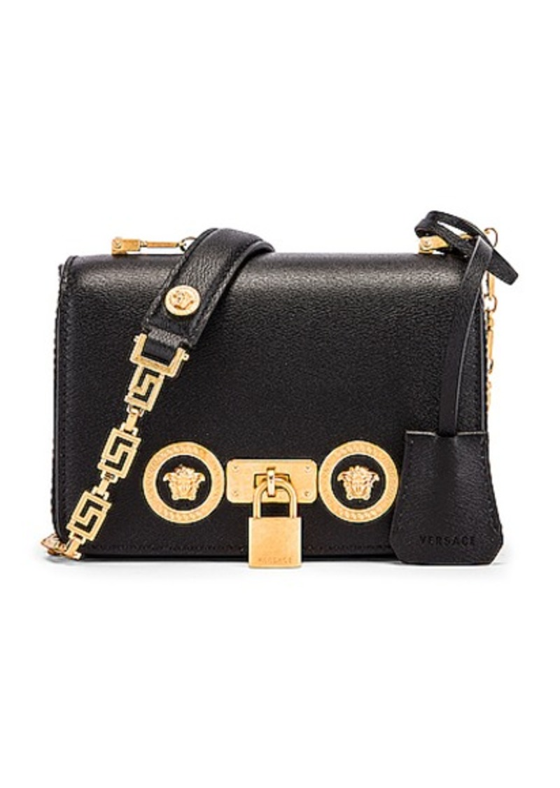 VERSACE Small Icon Flap Shoulder Bag