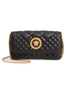 Versace Small Tribute Small Quilted Crossbody Bag