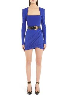 Versace Square Neck Minidress