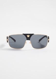 00ca289d989c Versace VE2207Q Baroque Squared Sunglasses