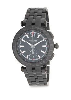 Versace Stainless Steel Five-Link Bracelet Watch