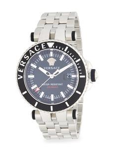 Versace Stainless Steel Quartz Bracelet Watch