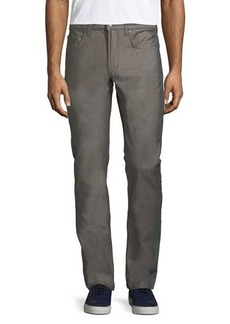 Versace Straight-Leg Colorblock Pants