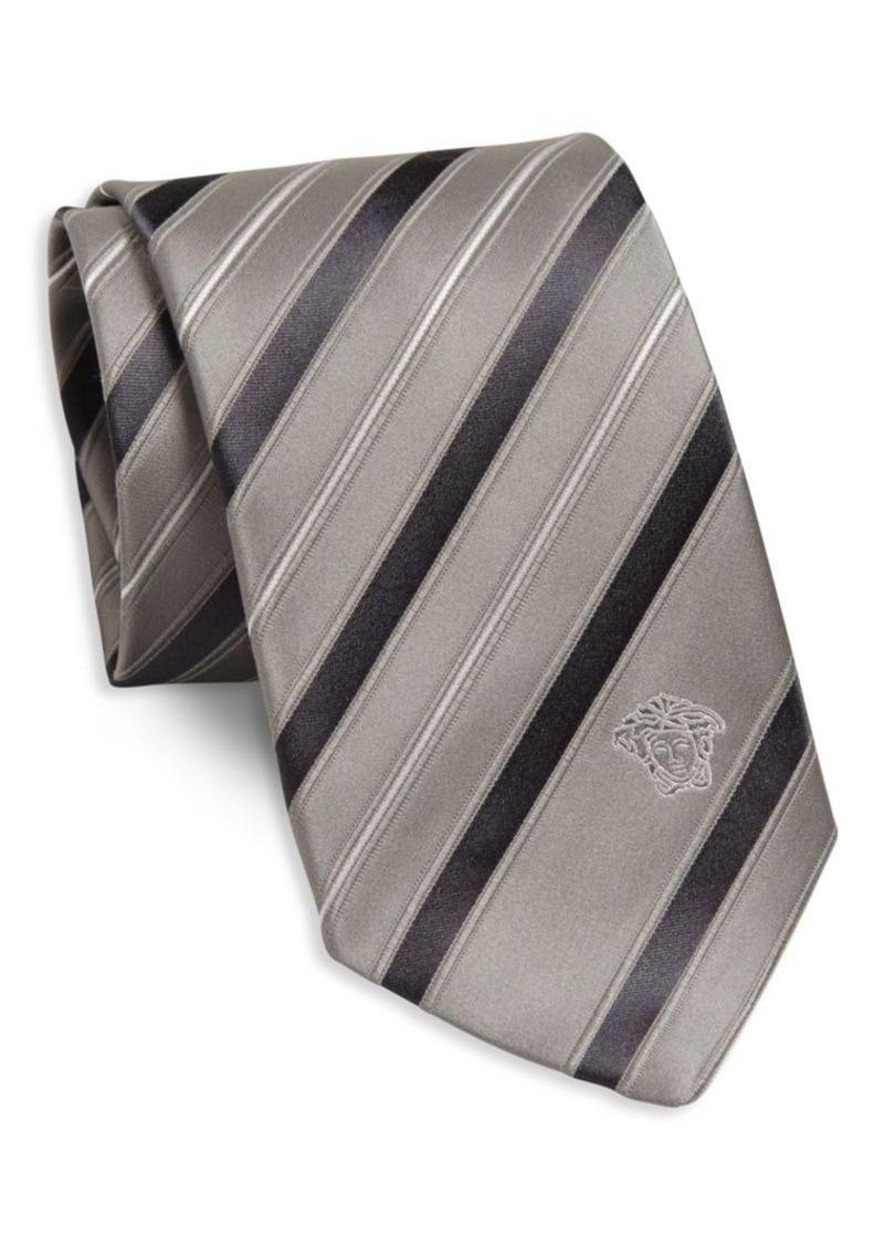 Versace Collection Stripe Silk Tie