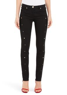 Versace Studded Skinny Jeans