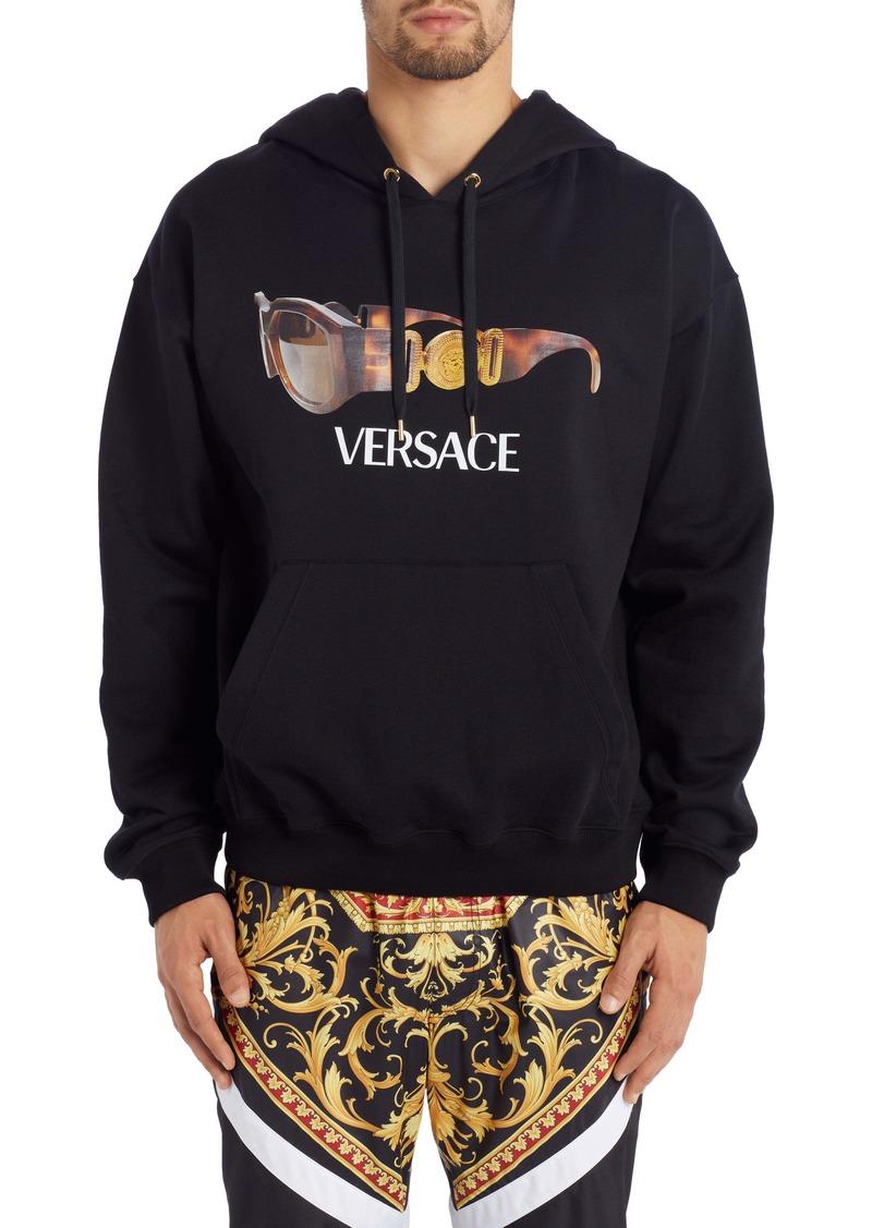 Versace Sunglasses Graphic Hooded Sweatshirt (Regular Retail Price: $895)